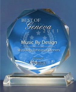 Music By Design Receives 2011 Best of Geneva Award