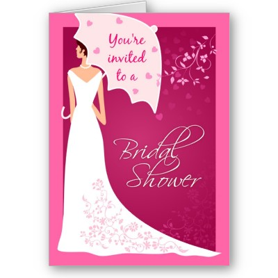 one of the most enjoyable and carefree responsibilities for any bride to be is attending the numerous bridal showers thrown in your honor