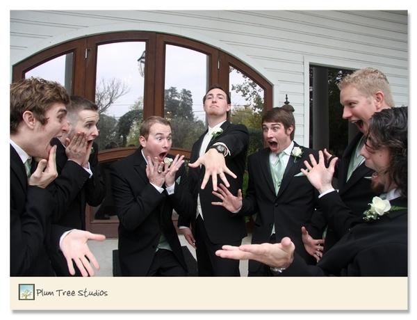 5 Fun Wedding Photos