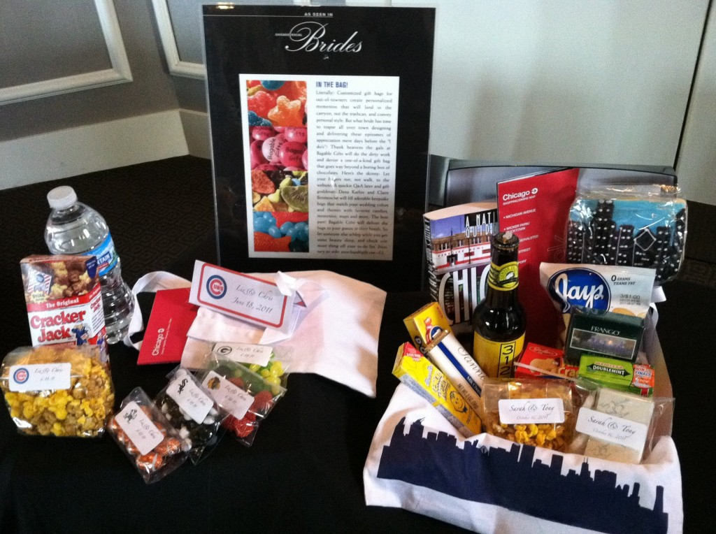 Wedding Welcome Bag Ideas Chicago : Local Vendor Spotlight: Bagable GiftsChicago Wedding Blog