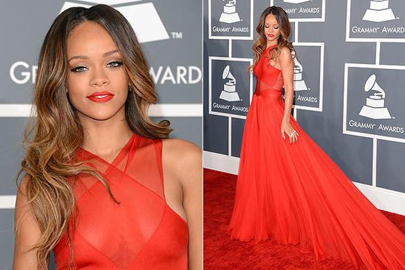 Rihanna gown