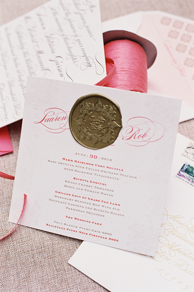southern-wedding-gold-seal-invitation