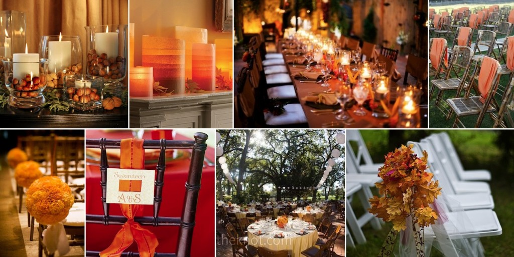 Thanksgiving wedding montage