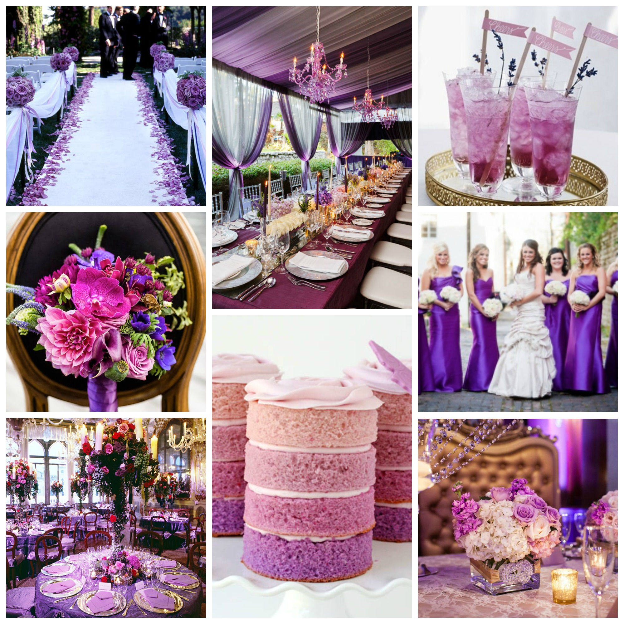 Radiant-Orchid wedding