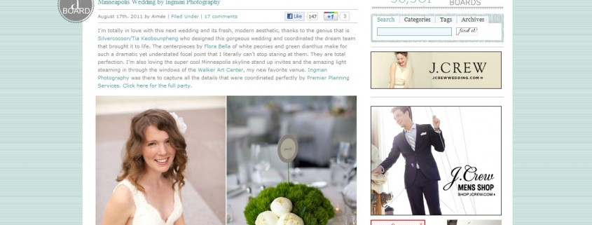 favorite wedding websites