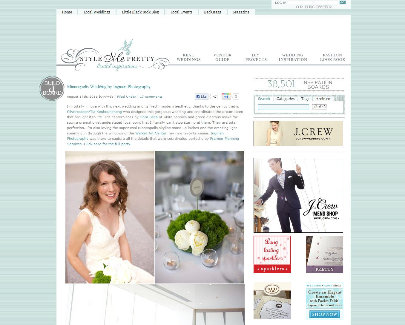 Favorite wedding websites chicago wedding blog junglespirit Image collections