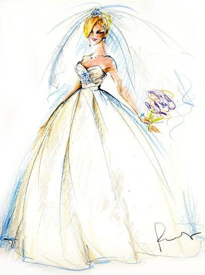 婚纱设计图片手绘图简单
