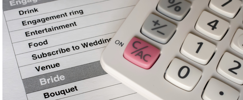 Establishing A Wedding Budget