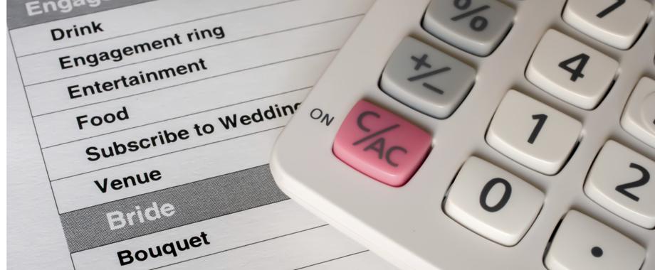 Establishing A Wedding Budget