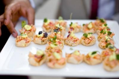 planning your wedding menu