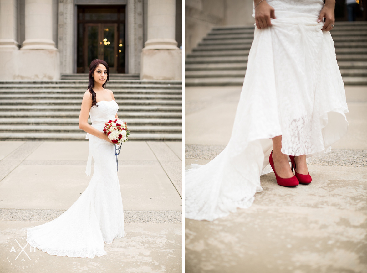 Courthouse wedding chicago wedding blog for Simple courthouse wedding dress