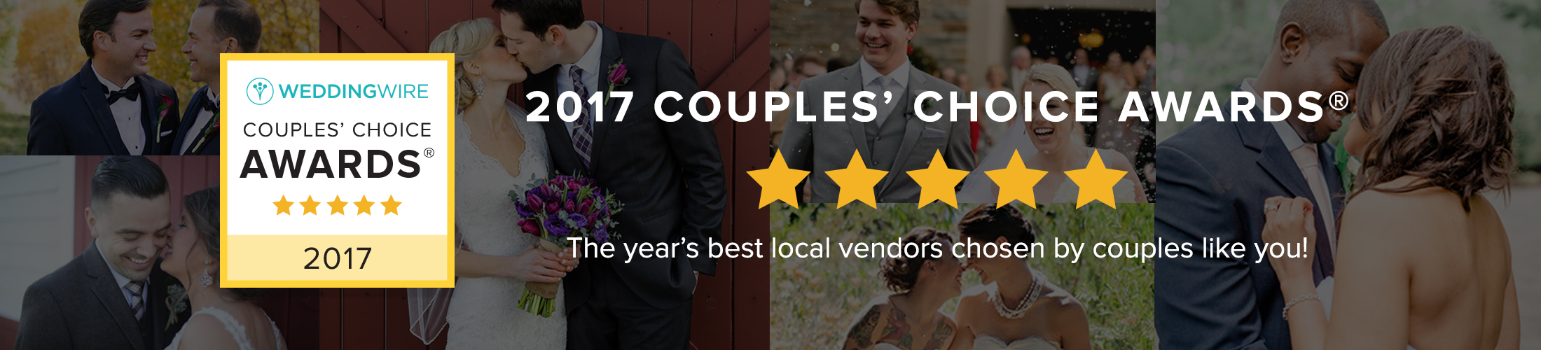 WeddingWire Couples' Choice Award® 2017