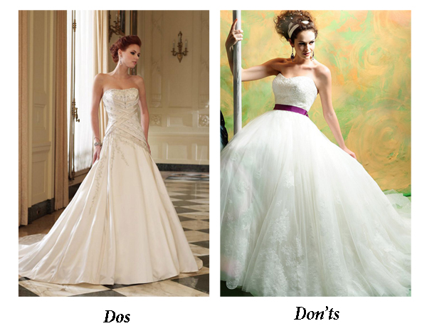 Do S And Don Ts Of Finding Your Wedding Dress