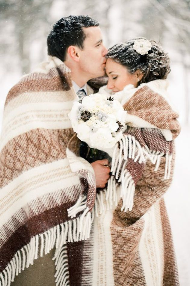 Winter wedding ideas chicago wedding blog winter wedding junglespirit Images