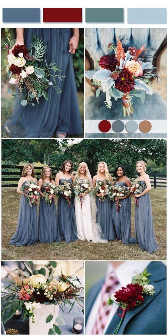 2018 Wedding Theme Colors Chicago Wedding Blog