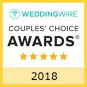 WeddingWire Couples' Choice Award® 2018