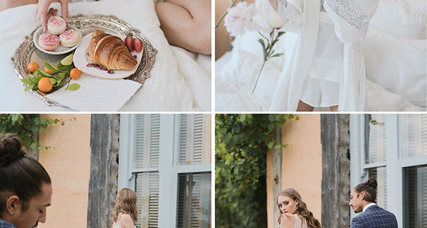 Romantic French Inspired Wedding
