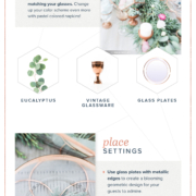 Geometric Wedding Decor Ideas