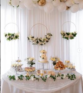 floral hoops