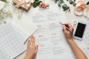 Organized Wedding Planner