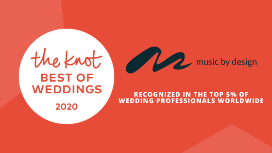Music By Design The Knot Best of Weddings 2020