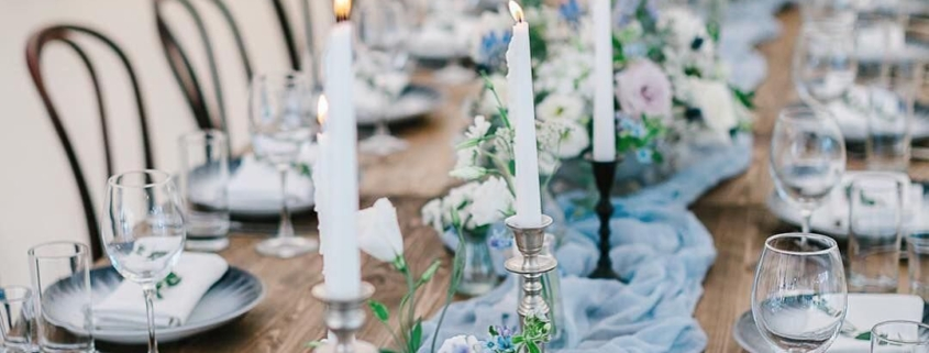 Spring Blue Table Inspiration