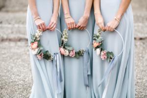 Hoop Wedding Flowers