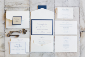 Vintage Simple Wedding Invitations