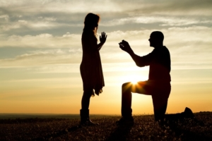 Wedding Ring Proposing