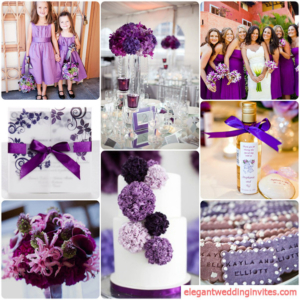 Purple Wedding Color Palette