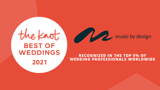 Music By Design The Knot Best of Weddings 2021