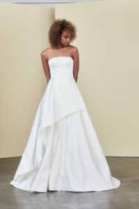 Wedding Dress Trend Sleek Lines