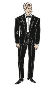 Wedding Formality Options, Black Tie Formal