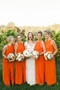 Bright Orange Wedding Inspiration
