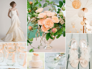 Peach Orange Wedding Inspiration