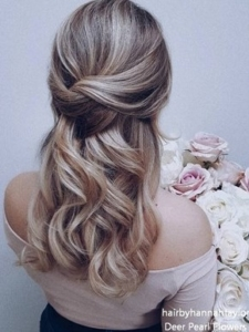 Half-Up/Half Down Hairstyle