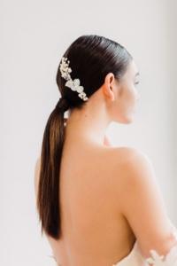 Sleek Ponytail Bridal Hari